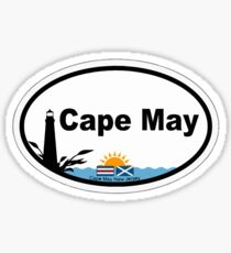 Cape May - New Jersey. Sticker