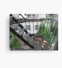 New York Apartment View Canvas Print