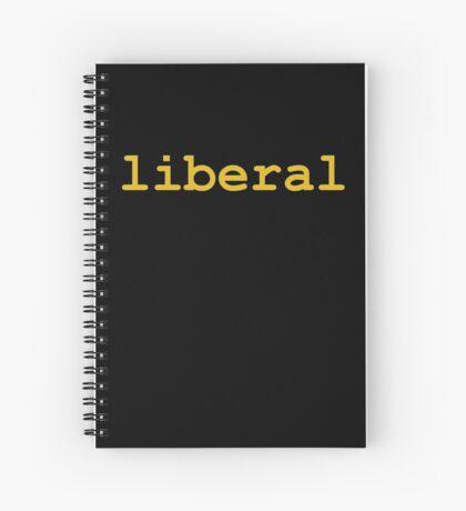 Liberal (Orange) Spiral Notebook