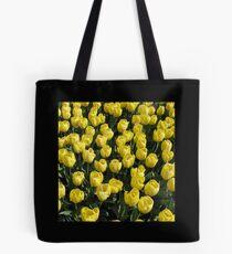 Blossoms of Gold - Yellow Tulips - Keukenhof Gardens Tote Bag