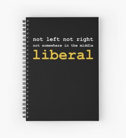 Just Liberal Spiral Notebook