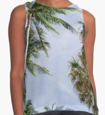 Palm Trees Contrast Tank