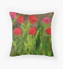 Flowers for Mommy Throw Pillow