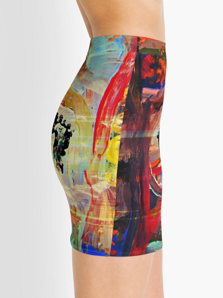 Alternate view of Un-Named Star Mini Skirt