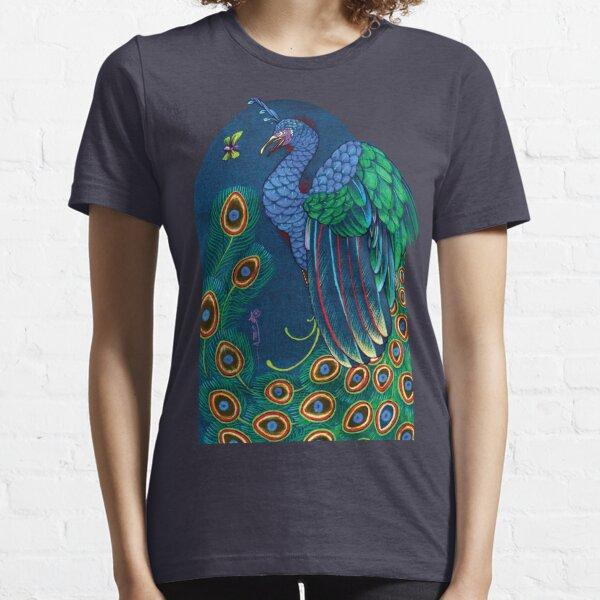 peacock t-shirt, art nouveau Essential T-Shirt