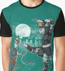 Claws VS Nunchucks Graphic T-Shirt