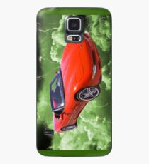 Red C5 Corvette convertible Muscle Car Case/Skin for Samsung Galaxy
