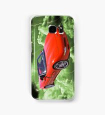 Red C5 Corvette convertible Muscle Car Samsung Galaxy Case/Skin