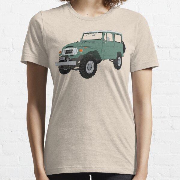 1973 FJ40 Cartoon rendering Essential T-Shirt