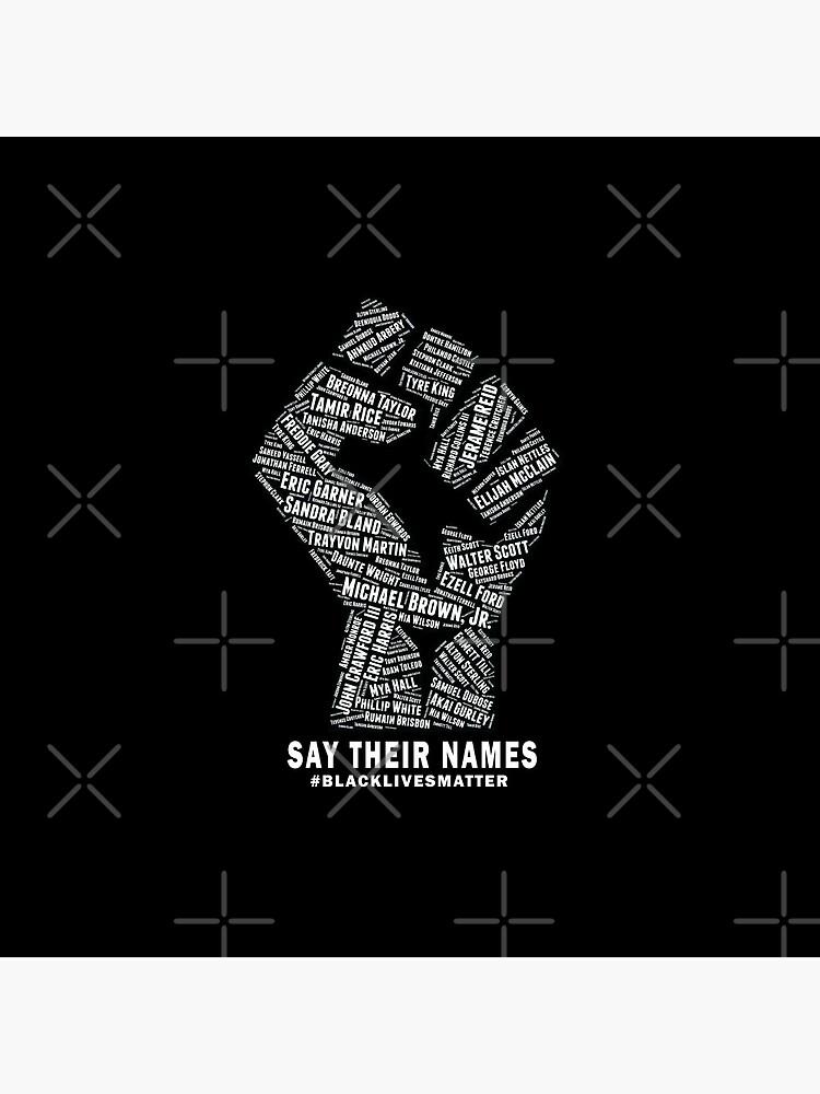 Black Lives Matter: Say Their Names by shaggylocks