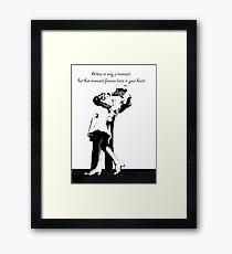 Kiss of a Lifetime Framed Print