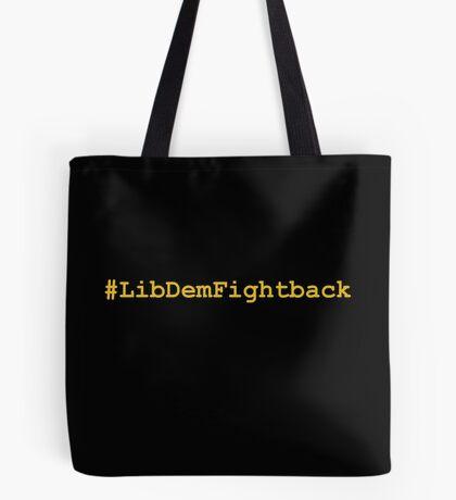 #LibDemFightback Tote Bag