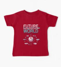 Vintage EPCOT Center Future World Map Baby Tee