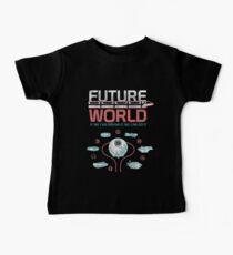 EPCOT-Zentrum 1982 Weltkarte Baby T-Shirt