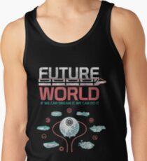 1982 EPCOT Center Future World Map T-Shirt