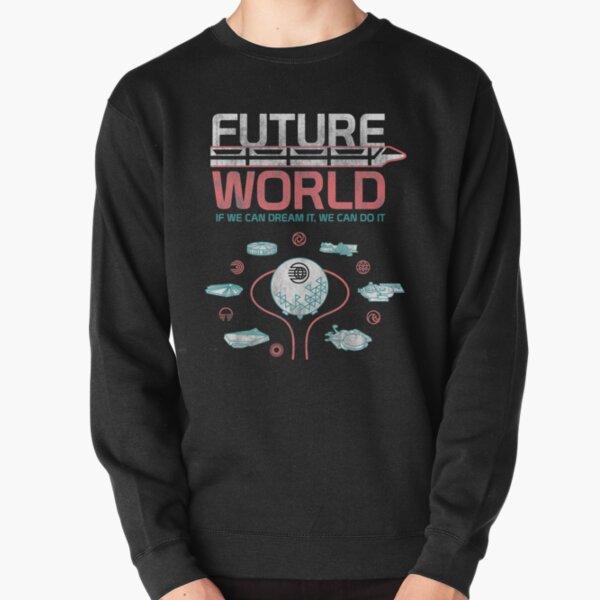 1982 EPCOT Center Future World Map Pullover Sweatshirt
