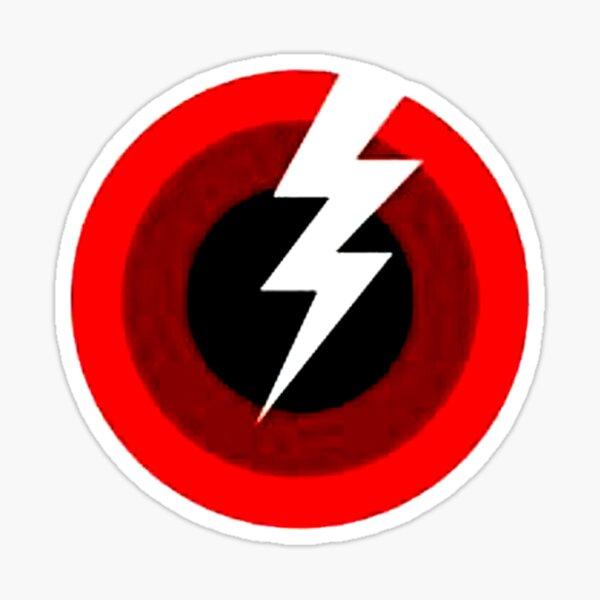 lighting bolt jam Sticker