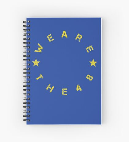 We Are The 48 (Circular) Spiral Notebook