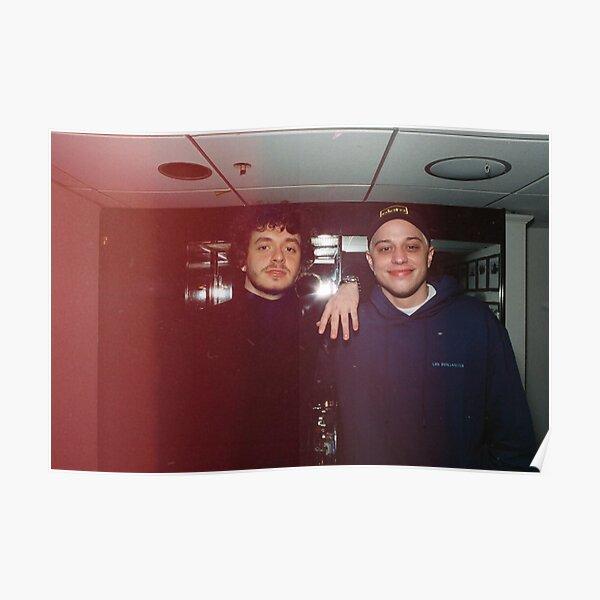 Jack Harlow and Pete Davidson polaroid  Poster