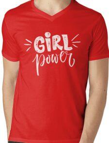 Girl power. Feminism quote Mens V-Neck T-Shirt