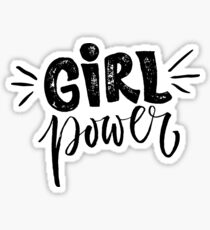 Girl power. Feminism quote Sticker