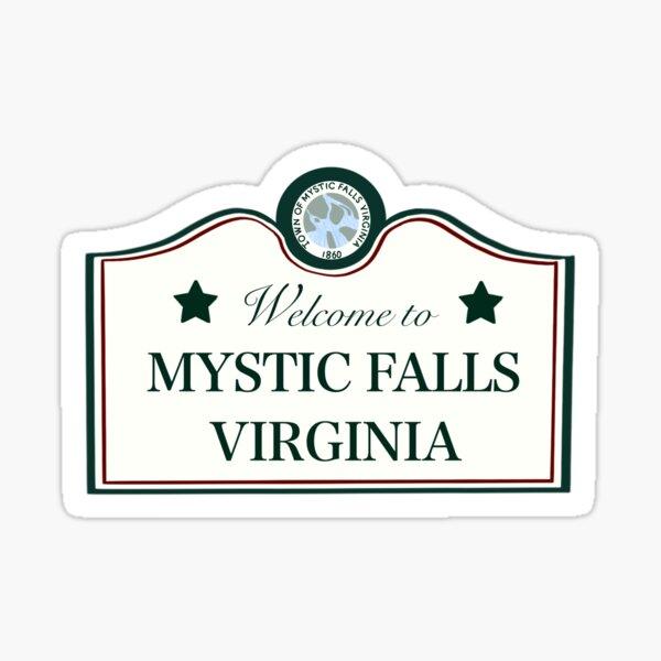 Bienvenue à Mystic Falls Sticker