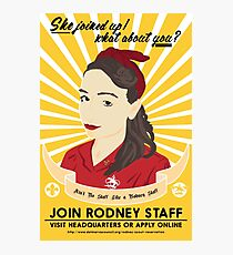 Join Rodney Staff Photographic Print