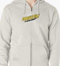 Dogecoin - Bazinga!  Zipped Hoodie
