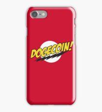Dogecoin - Bazinga!  iPhone Case/Skin