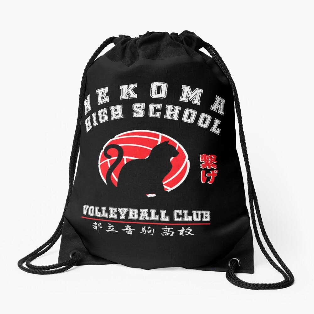 Haikyuu Nekoma High school Drawstring Bag