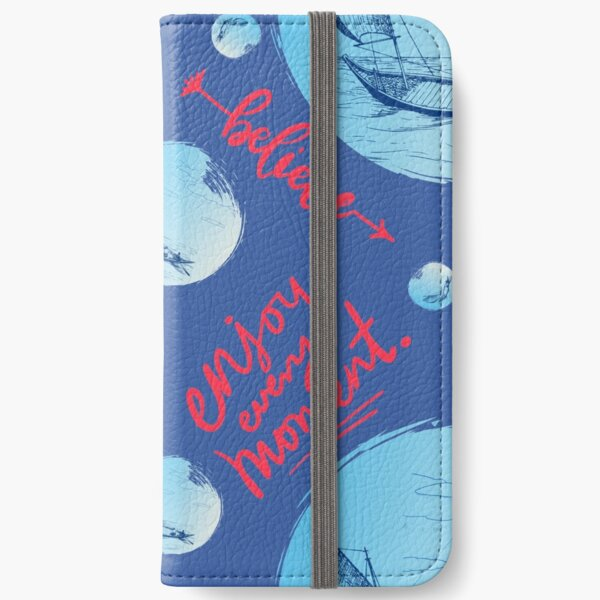 Fearless Love For The Sea iPhone Wallet