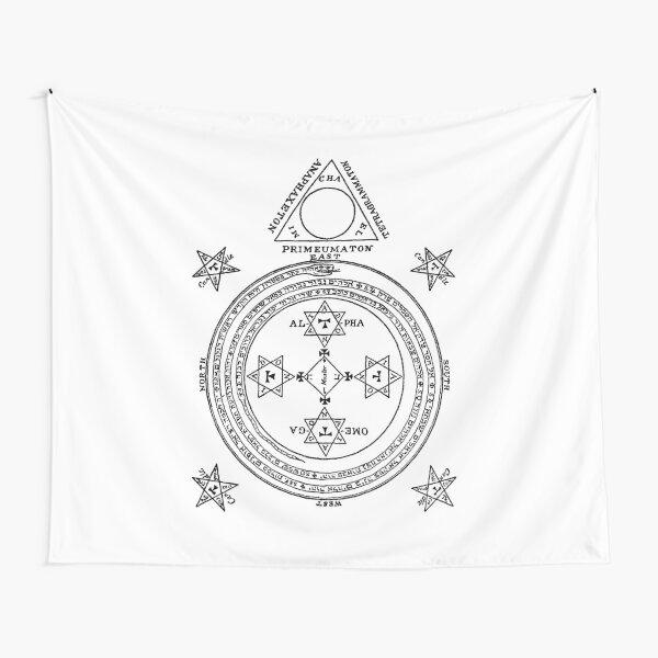 King Solomon Magic Circle Tapestry
