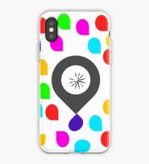 Colored rain drop iPhone Case