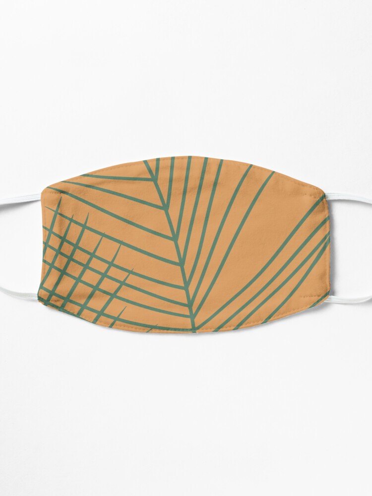 Alternate view of Palm Leaves Mask