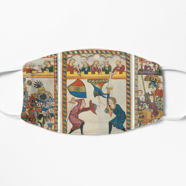 Codex Manesse, Book Flat Mask