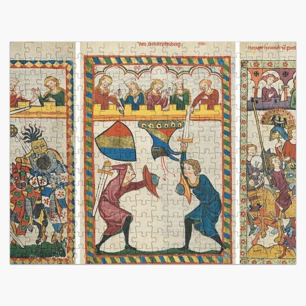 Codex Manesse, Book Jigsaw Puzzle