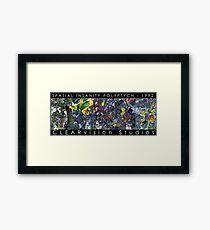 Spatial Insanity (1992) Framed Print