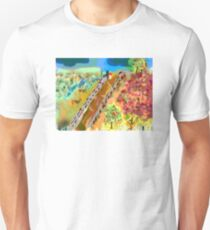 French Countryside, by Roger Pickar, Goofy America T-Shirt