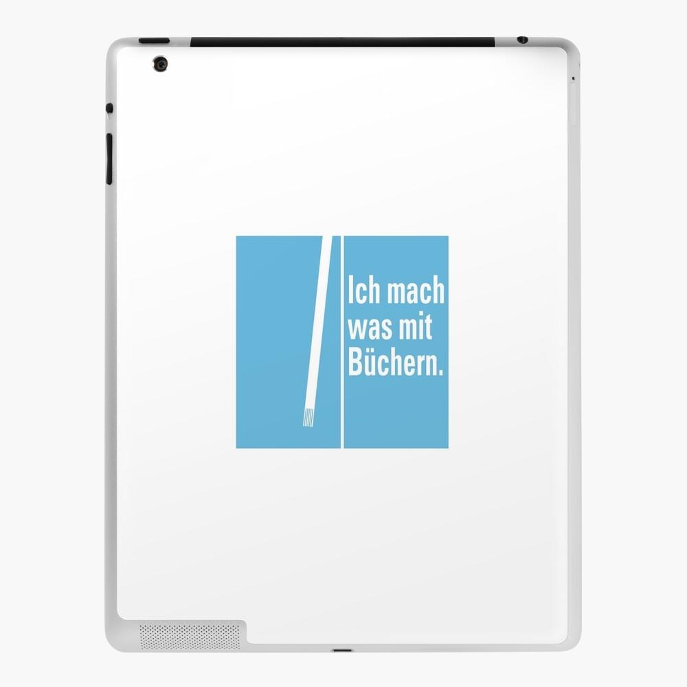 Was mit Büchern iPad-Hülle & Skin