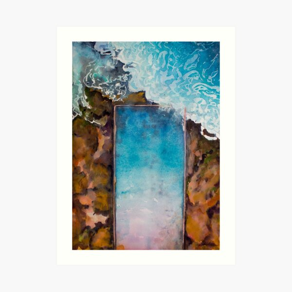 Cronulla Rock Pool  Art Print