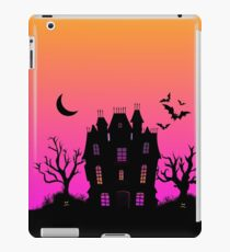 Haunted Silhouette Rainbow Mansion iPad Case/Skin
