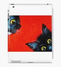 Sneaky Kittens iPad Case/Skin