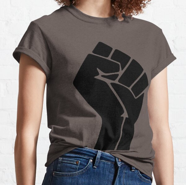 Black Lives Matter Power Fist Classic T-Shirt