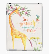 See Yourself When All is New iPad Case/Skin