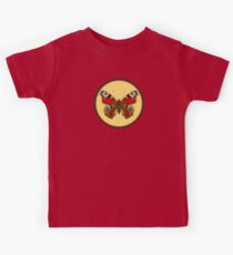 Admiral Butterfly - Cross Stitch style Kids Tee