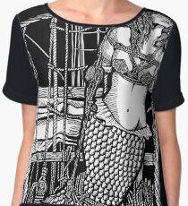 Bound Mermaid Women's Chiffon Top