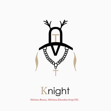 Knight Typography by justjimdesign