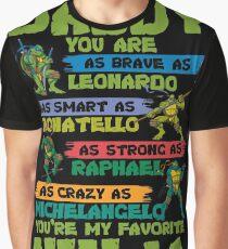Ninja - Daddy Ninja Graphic T-Shirt