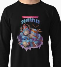 Ninja - Teenage Mutant Ninja Squirtles Lightweight Sweatshirt