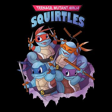 Ninja - Teenage Mutant Ninja Squirtles by dianewhitten